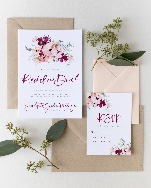 AFF Digital Invitation Digital wedding invitations
