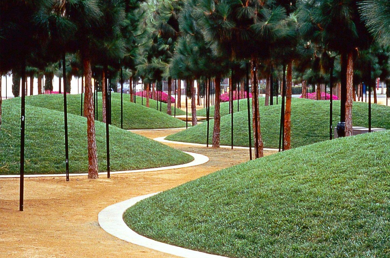Marina Linear Park By Martha Schwartz San Diego Ca Usa Http Www Marthaschwartz Com Landscape Architecture Design Landscape Design Contemporary Landscape