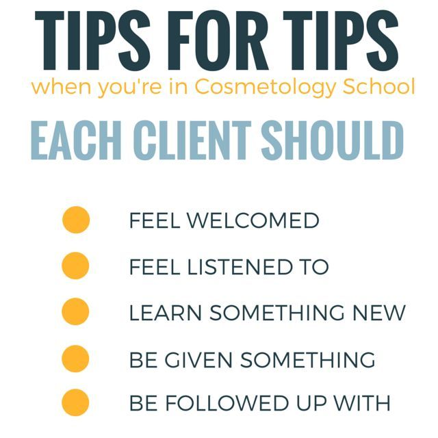 Resume For Hairstylist The Keys To Earning Tips As A Cosmetology Student  Cosmetology