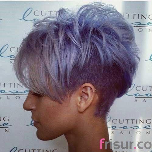 Frisuren kurze haare dunkel