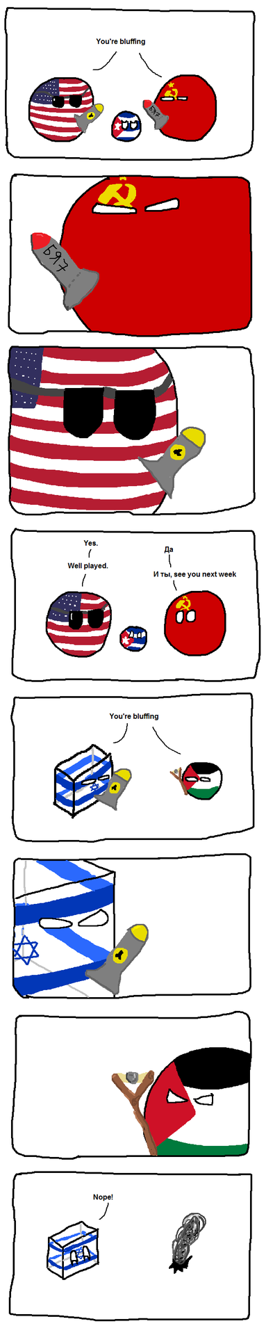 Israel doesn't play chicken