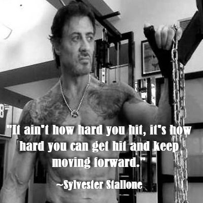Great Quote By Sylvester Stallone