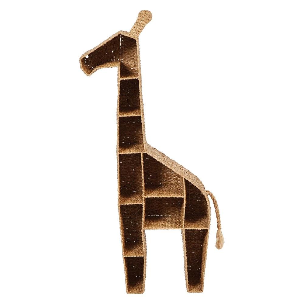 Hand-Woven Giraffe Shelf – BURKE DECOR