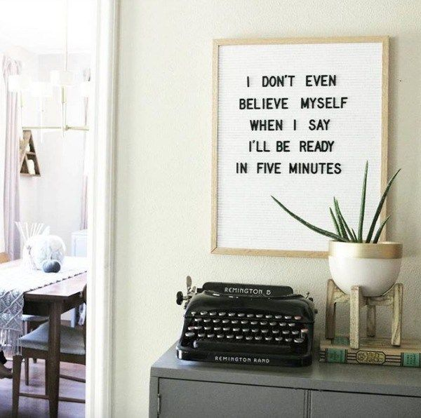 Letterboards-Are you funny enough to own one? - Nesting With Grace