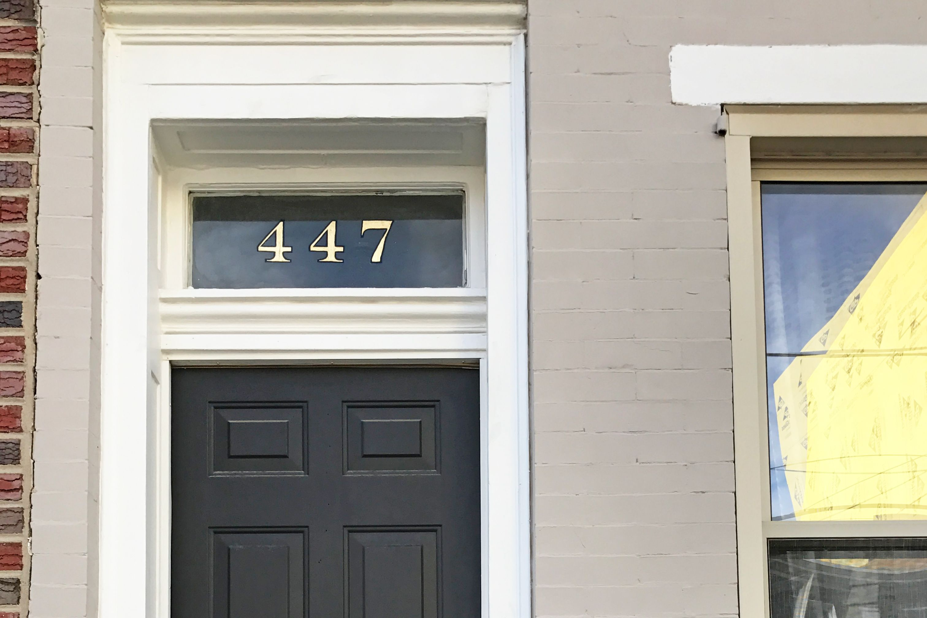 An Under 20 Diy Project To Add Curb Appeal House Numbers Diy House Numbers Front Door