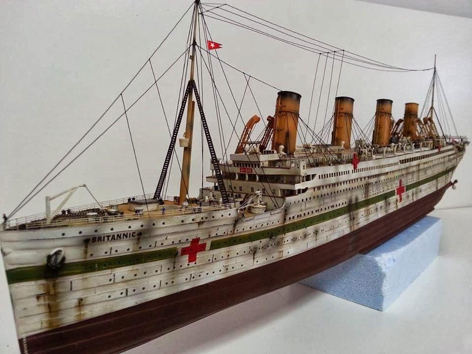 H.M.H.S Britannic | Titanic | Pinterest | Food photography and Dioramas