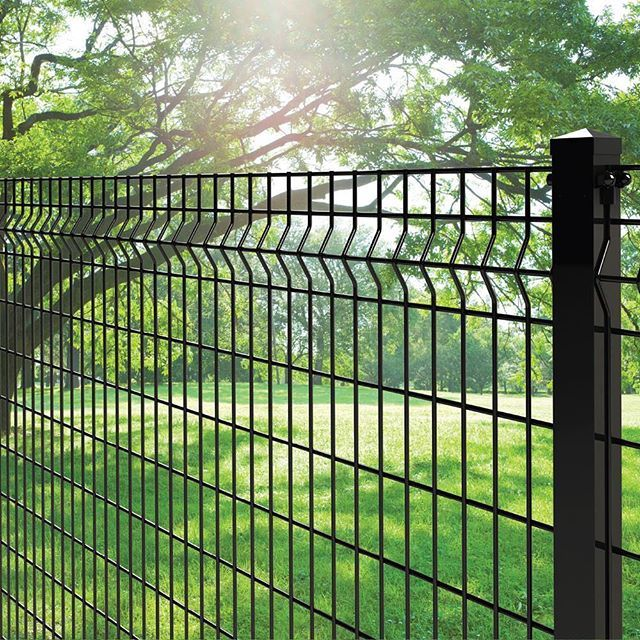 The Deco Grid 4ft X 6ft Black Steel Fence Panel Available At Homedepot Forgeright Fence Thehomedep Metal Fence Panels Steel Fence Panels Steel Fence