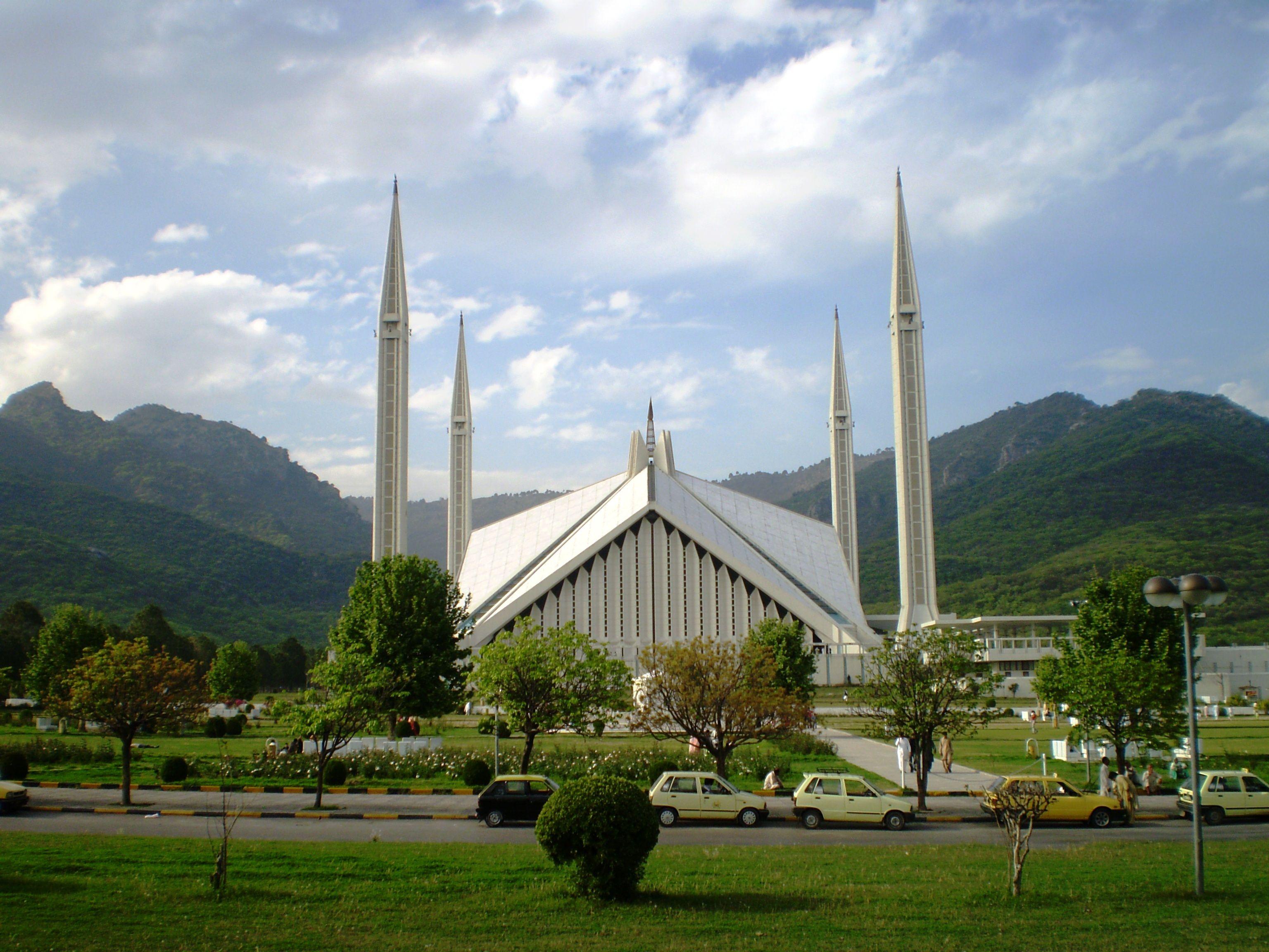 Faisal Masjid Islamabad Pakistan Dream Destinations