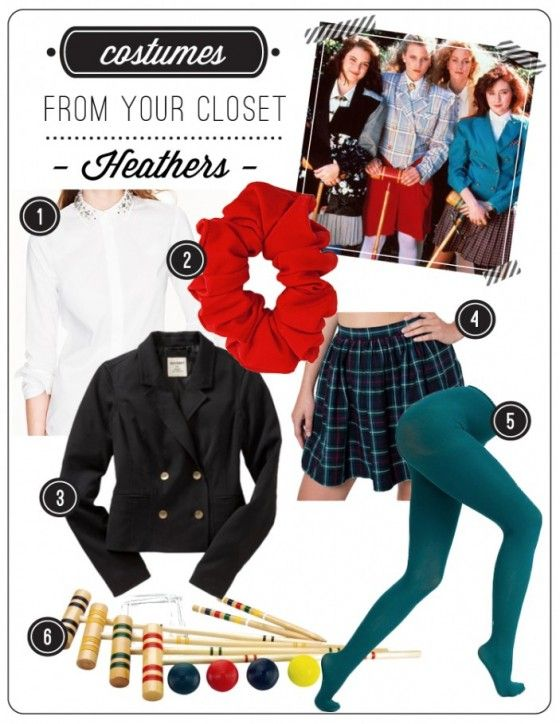 Last Minute Costumes from Your Closet Heathers Move