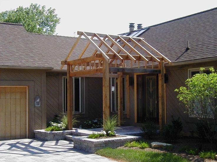 Corner Pergola Entrance Google Search Building A Porch Front Porch Pergola House With Porch
