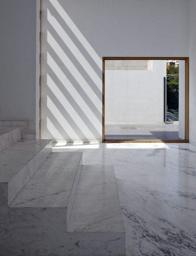 Interiors · Minimalist ArchitectureInterior ArchitectureDesign Interiors Interior DesignInterior ExteriorArchitectural FirmConcrete FinishesGenius  ...