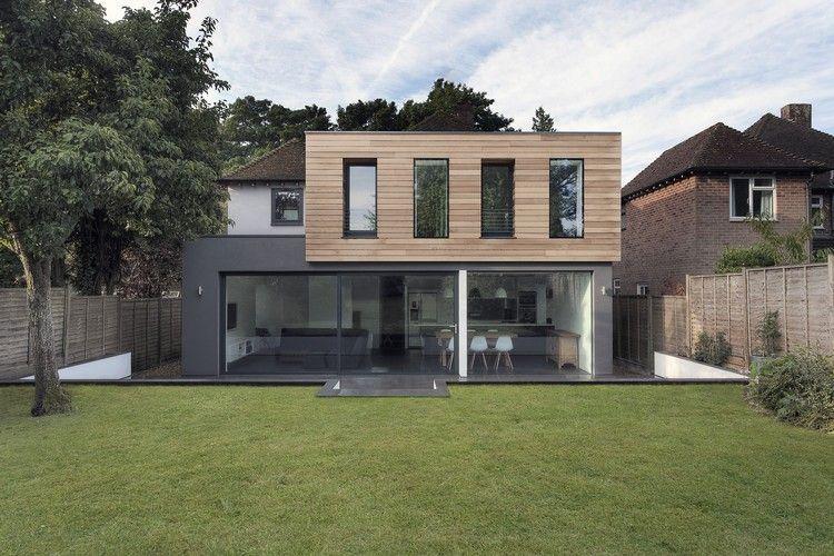 Moderne fassadenverkleidung aus holz  Fassadenverkleidung aus Lärchenholz - Medics House von AR Design ...