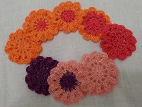 Free Pattern Crochet Japanese Flower Japanese Flowers Free