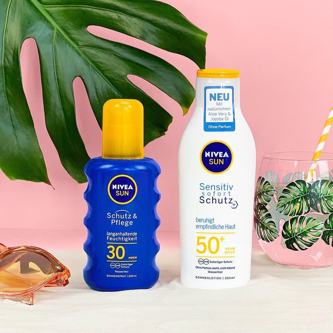 Auch Wenn Es Wolkig Ist Benötigt Unsere Haut Sonnenschutz Unsere Nivea Sun Schutz Und Pflege Schützt Eure Haut Sofort Lip Gloss Collection Nivea Skin Care