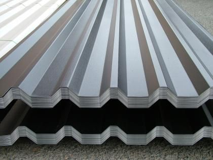 Box Profile 34 1000 Roof Sheets Roof Cladding Corrugated Roofing Steel Cladding