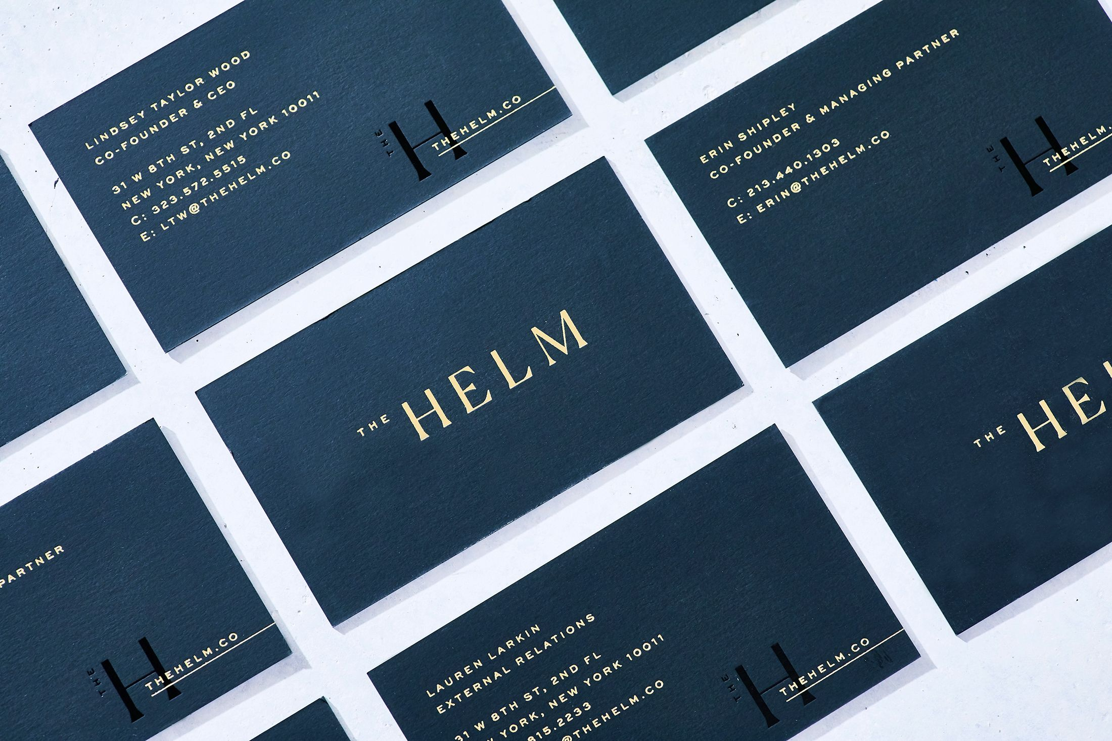 Stitch Design Co Sdco Partners The Helm Business Cards Beautiful Business Card Advertising Design Business Business Card Design