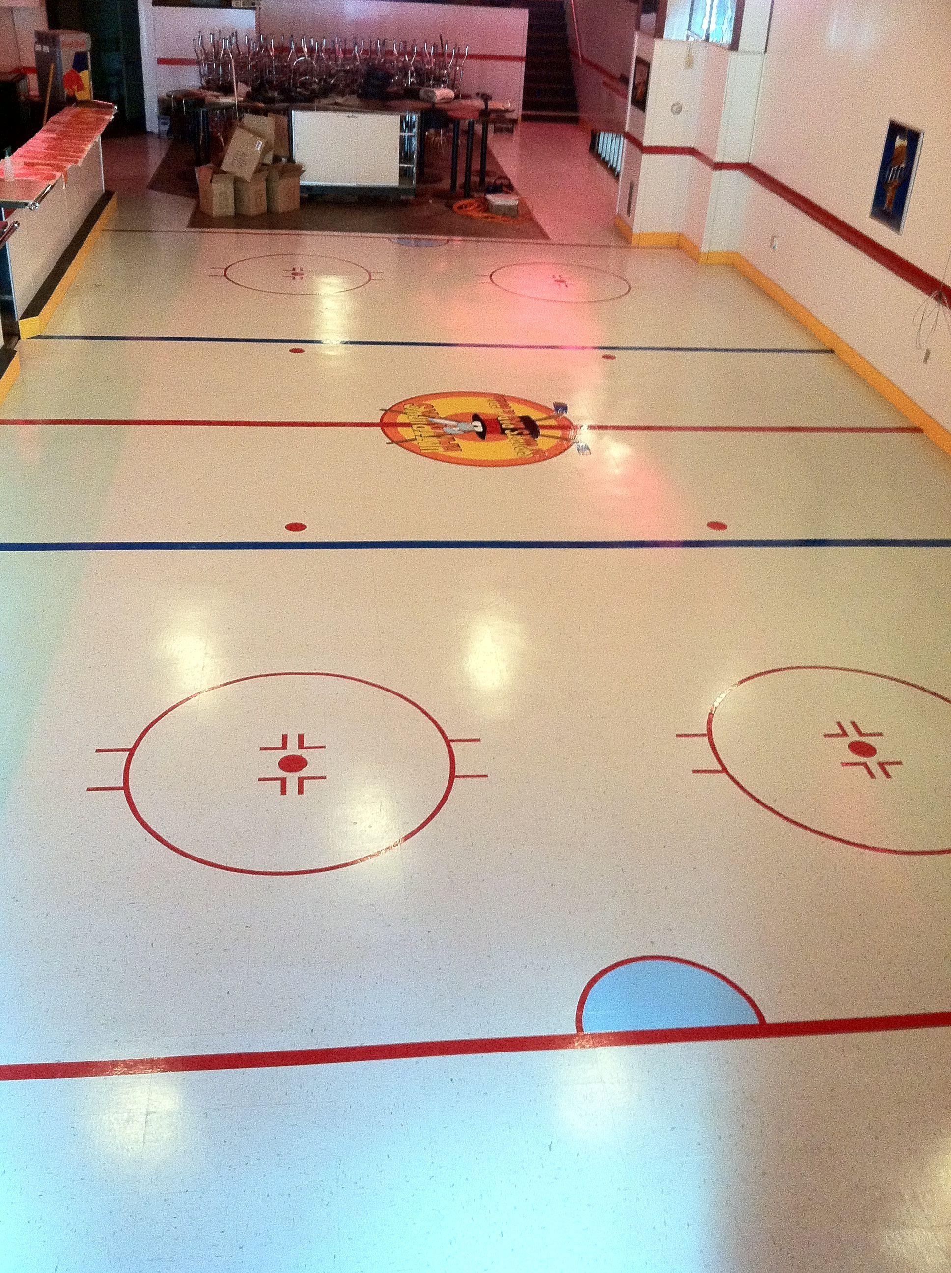 Hattricks ice hockey rink floor mural michael wishes basement hattricks ice hockey rink floor mural michael wishes dailygadgetfo Gallery