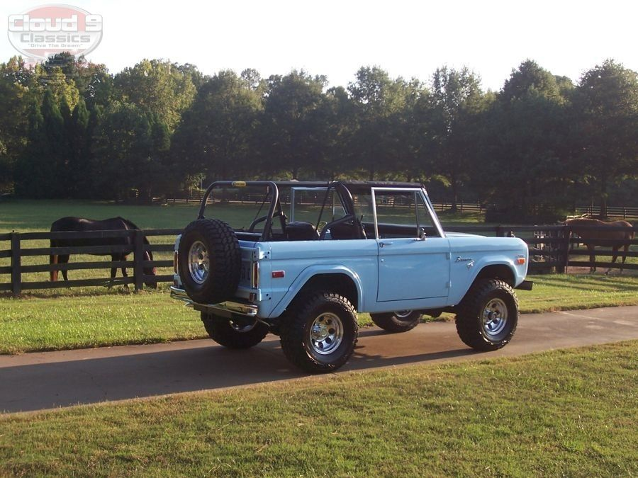 1974 Ford Bronco SOLD Cloud9 Classics Ford bronco