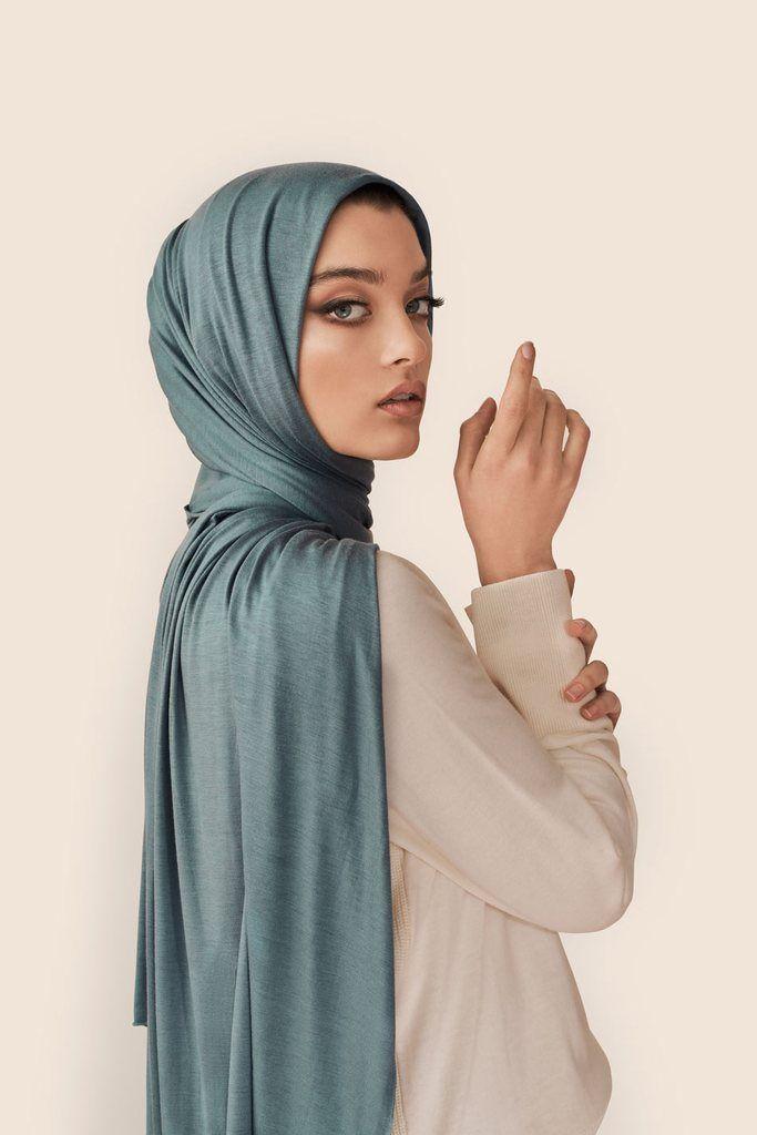 Mulberry Ribbed Jersey Hijab - Hijab Fashion Shop