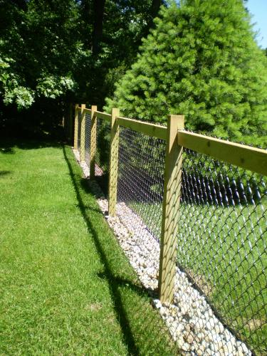 Invisaflow 38 In Channel Guard 7400 The Home Depot Dog Yard Fence Backyard Fences Backyard Privacy