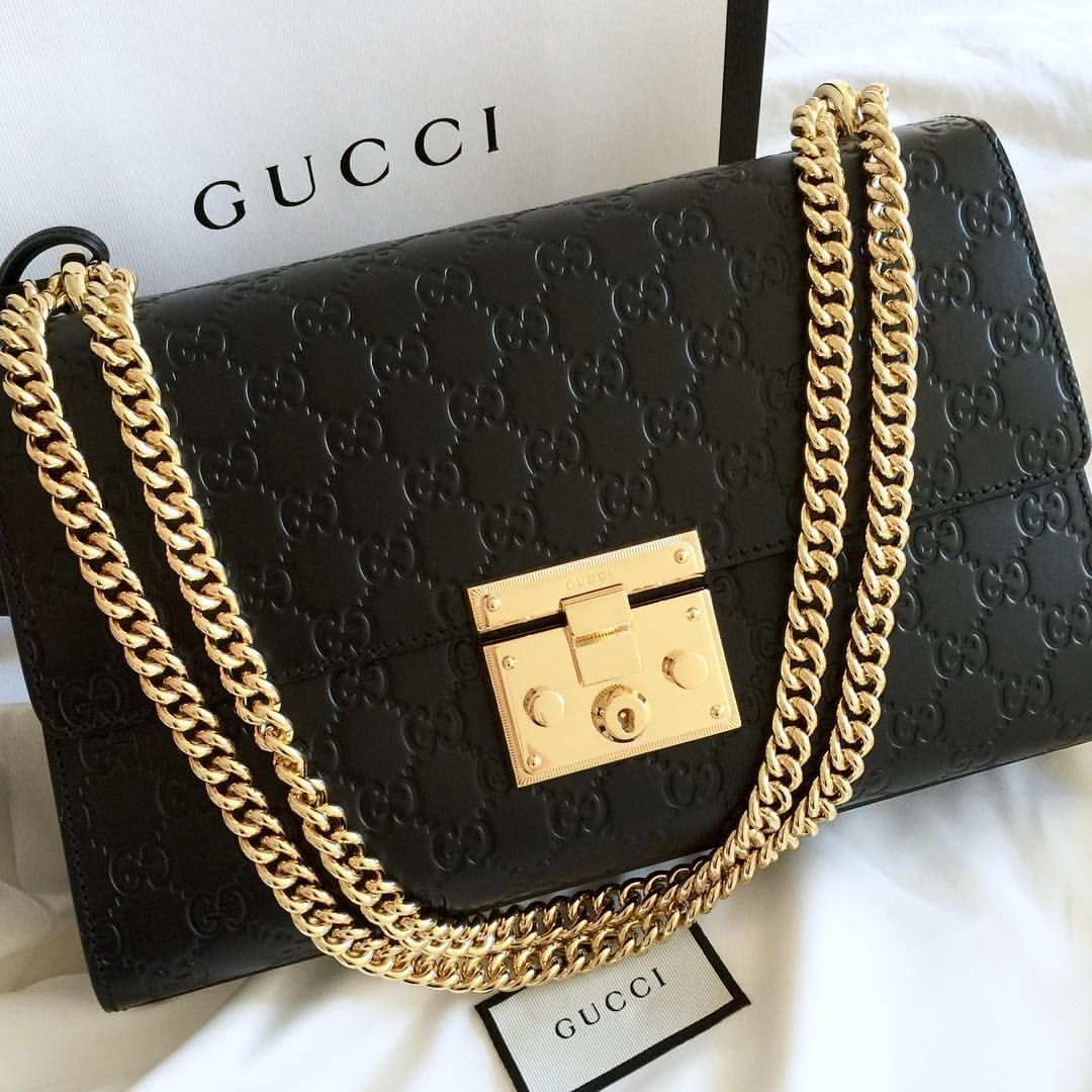 Gucci See This Instagram Photo By Ninarahel 56 Likes Padlock Bag