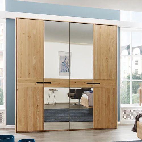Contemporary wardrobe / wooden / sliding door / mirrored-alto-musterring