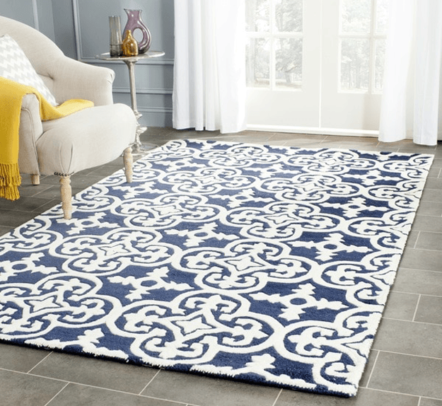 Pantone Navy Peony Concepts And Colorways Rugs Wool Area Rugs Area Rugs