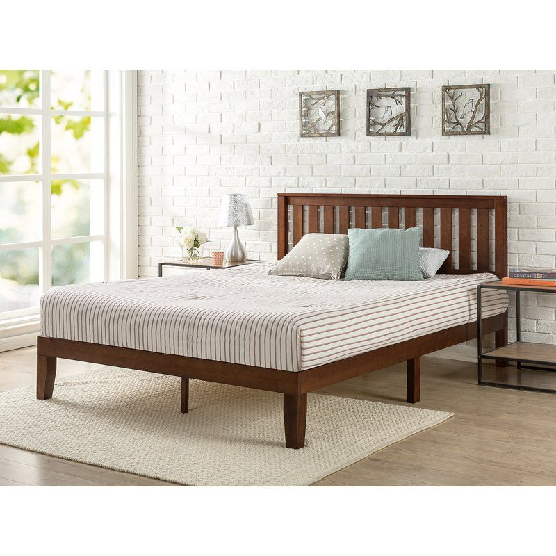 Canada S Best Mattress Deluxe Platform Bed Reviews Wayfair Ca With Images Headboards For Beds Wood Platform Bed Solid Wood Platform Bed