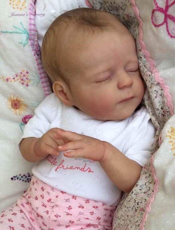 joanna 39 s nursery adorable reborn baby girl doll. Black Bedroom Furniture Sets. Home Design Ideas