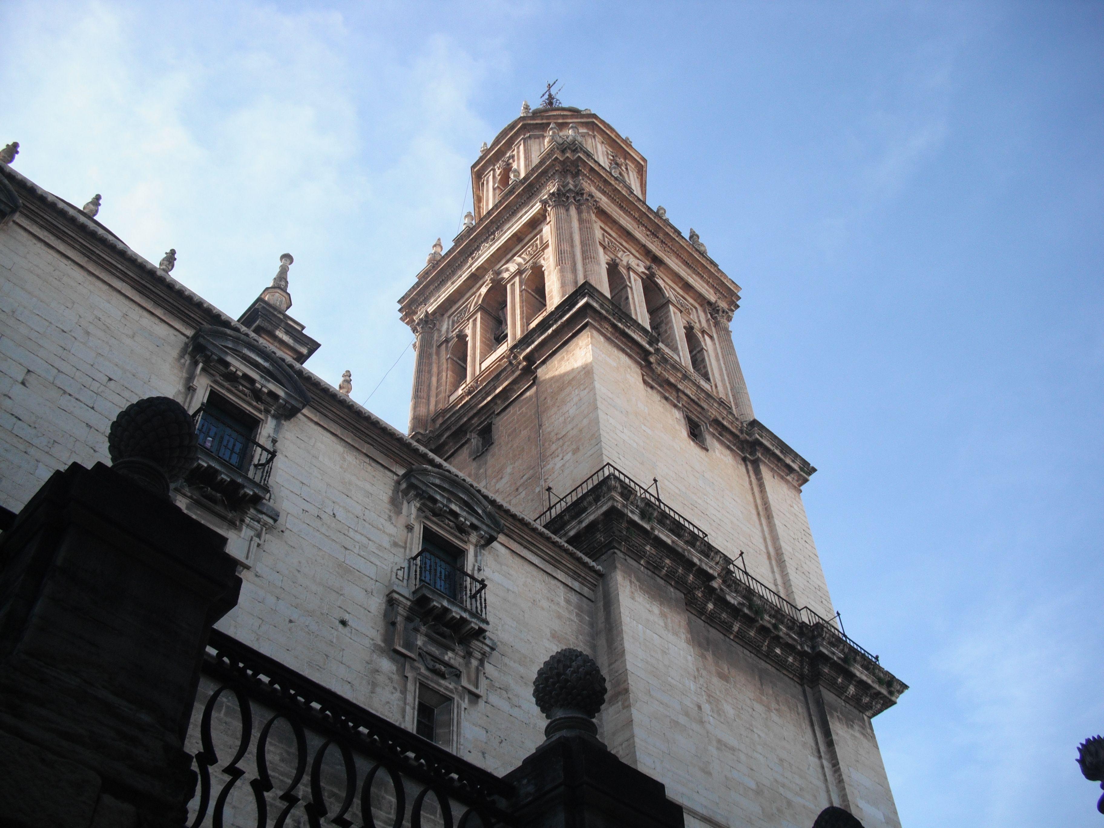 campanario de la Catedral de Jaén