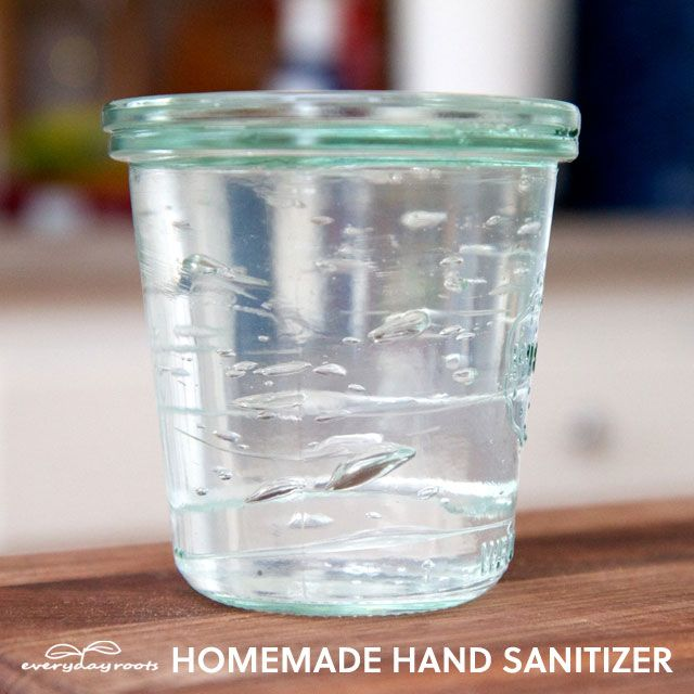 How To Make Homemade Hand Sanitizer Hand Sanitizer Natural Hand