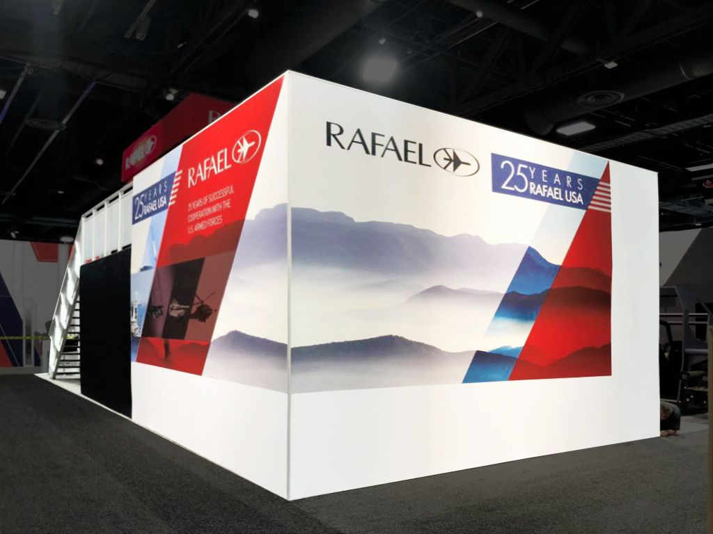 Expo Exhibition Stands Washington Dc : Rafael advanced defense systems ausa expo washington dc