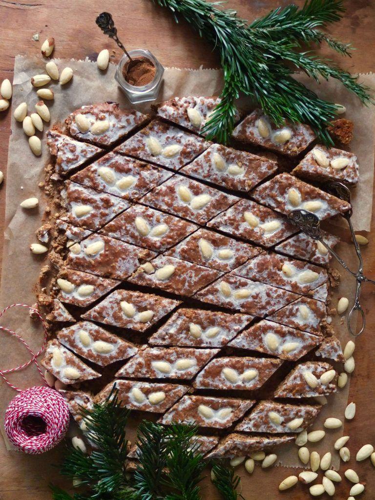 Nürnberger Elisenlebkuchen vom Blech #cookiesalad