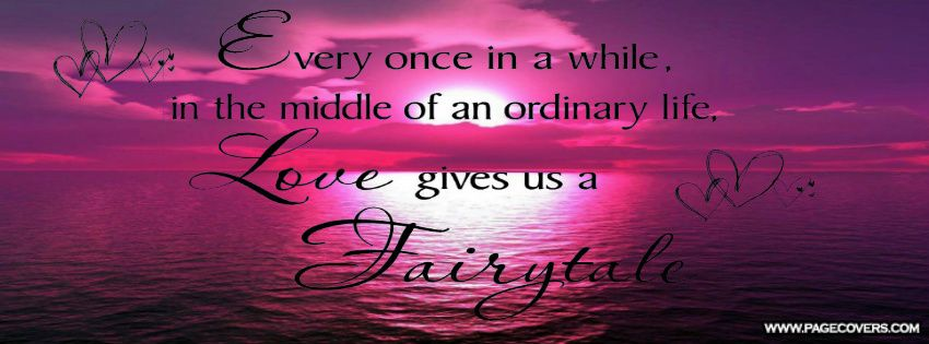 | Fairy Tale Love Facebook Cover - PageCovers.com ...
