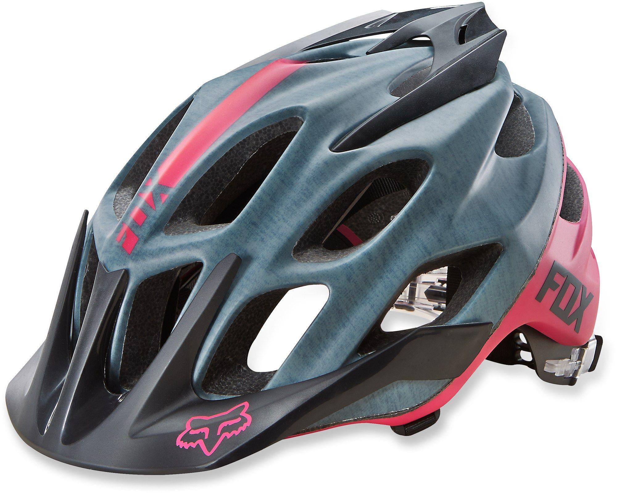 Fox Flux Mountain Bike Helmet Women S Womens Bike Helmet Mountain Bike Helmets Womens Bike
