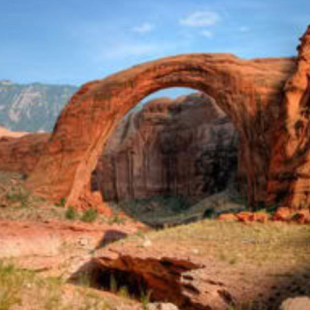 Rainbow Bridge Rock Formation