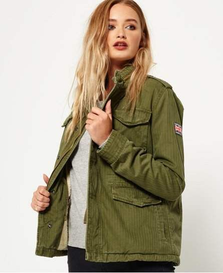 Superdry Winter Rookie Military Jacket in 2019 | Products