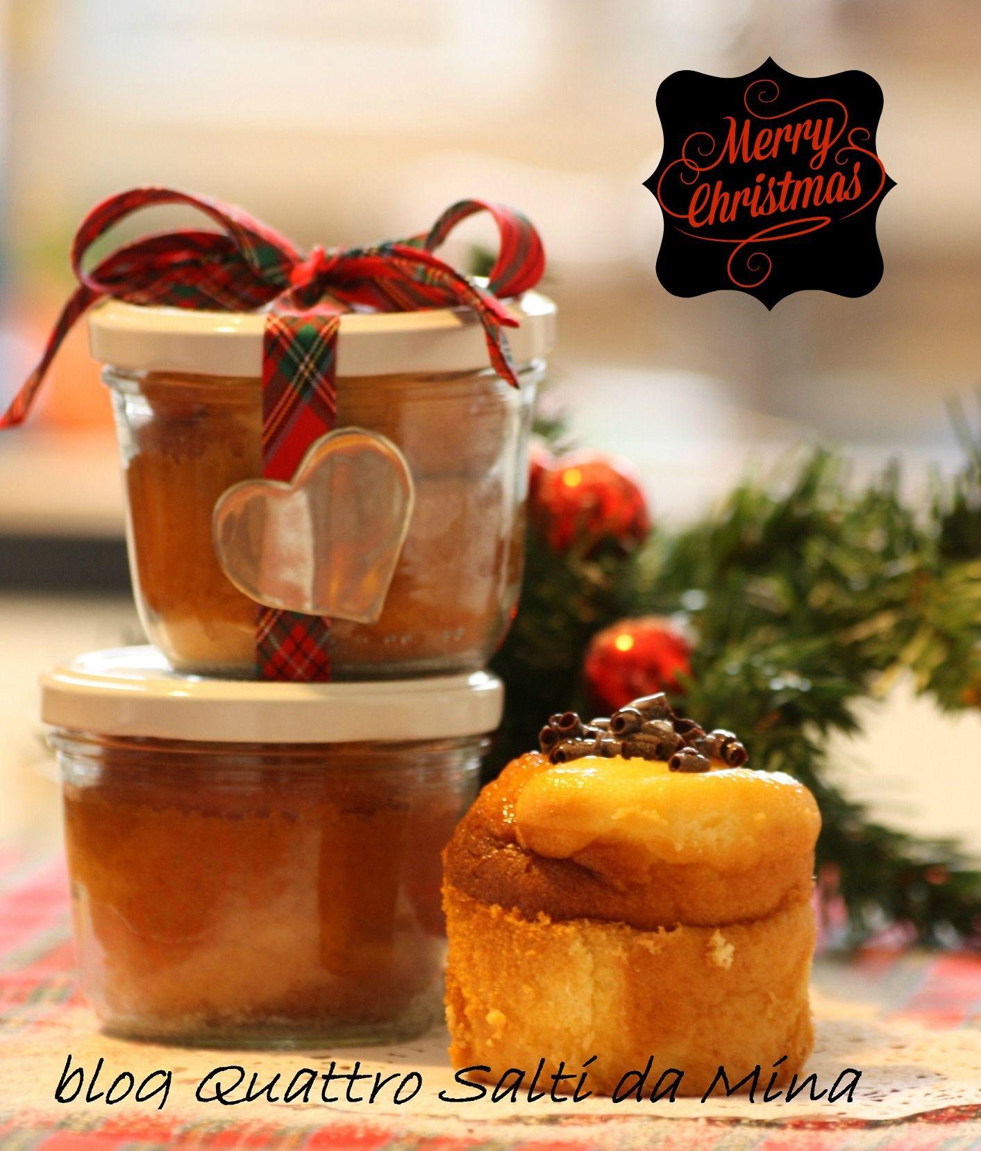 Ricette Sul Natale.Mini Cake In Barattolo Idea Regalo Natale Recipe In A Jar