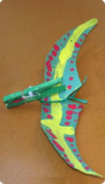 Pteranodon kids sculpture this would be fun with a for Dinosaur crafts for toddlers