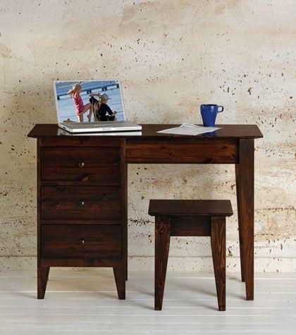 Bedroom Furniture > Dressing Tables Stools > Shaker Single Pedestal ...