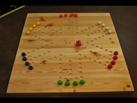 Marble Game With Wooden Board Making A Marble Game Board Woodlogger  Building Projects And