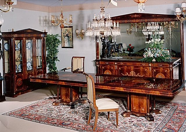 Empire Dining Room Furniture In Spanish Style