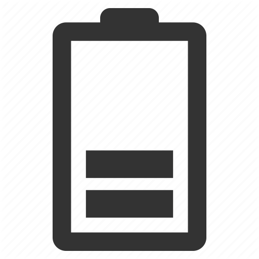 Battery Level Battery Status Empty Battery Low Battery Icon Download On Iconfinder Battery Icon Icon All Icon