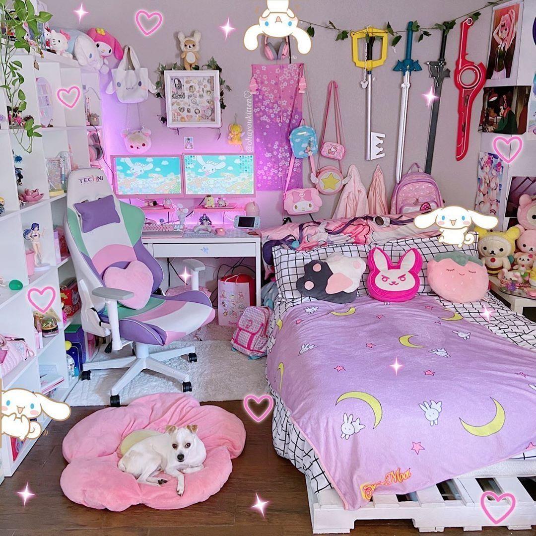 Kawaii Room Kawaii Room Girl Room Cute Room Ideas