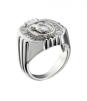 #followbest.com           #ring                     #White #Men's #Flying #Ring #Sterling #Silver       White CZ Men's Flying Ring in Sterling Silver                                 http://www.seapai.com/product.aspx?PID=1467132