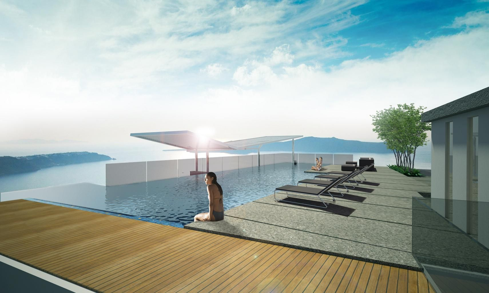 Awesome ROOFTOP POOL   Google Search