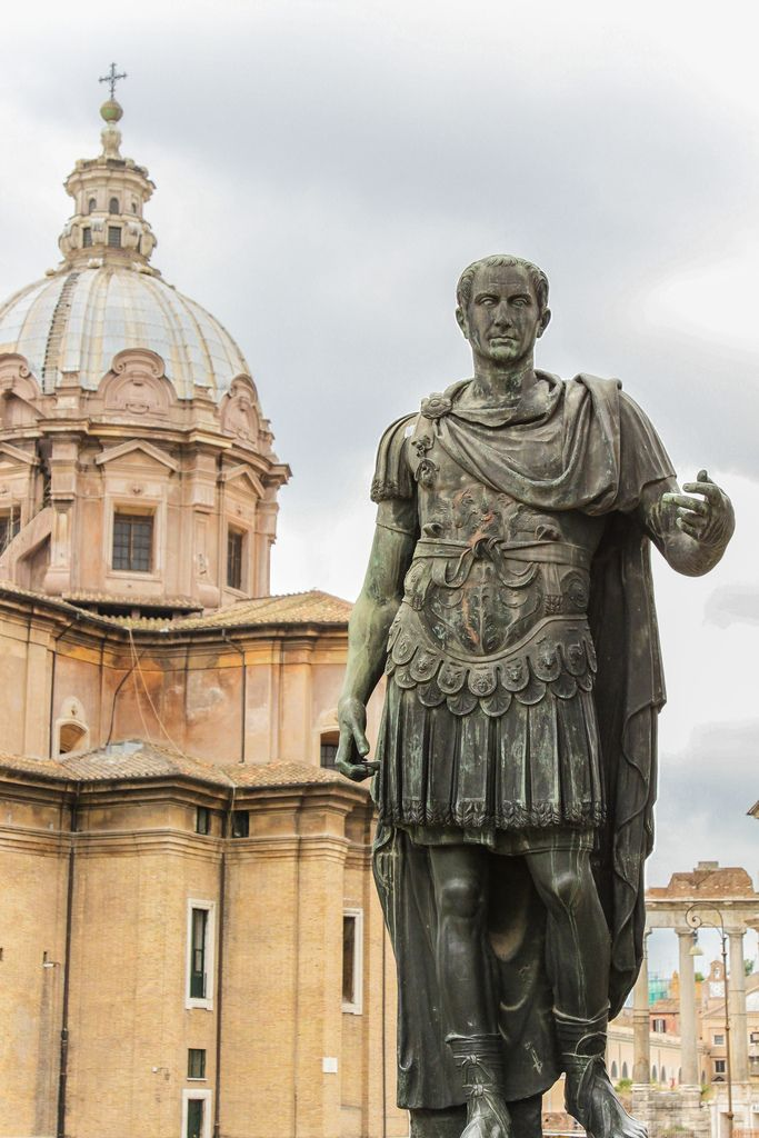 Julius Caesar. I have a few books about him I have to read ...