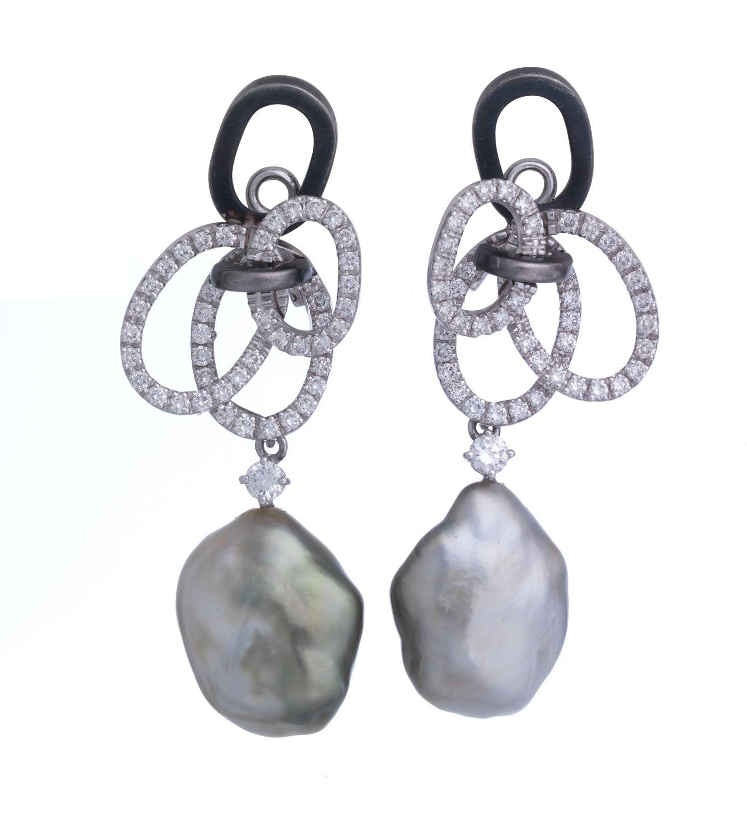 Massimilia. #Oorbellen #Earrings #Juwelen #Jewelry #LillyZeligman www.lillyzeligman.com