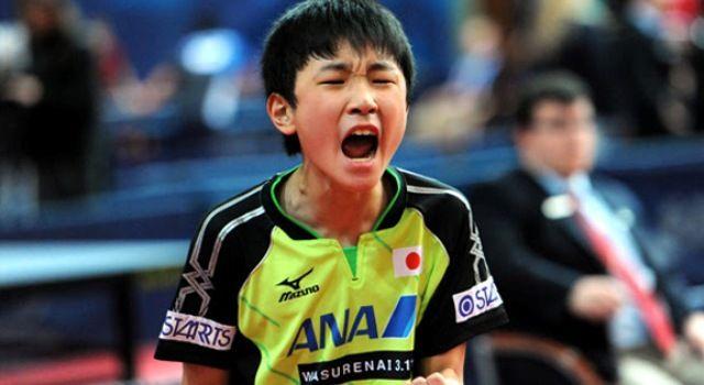 Harimoto torna-se no mais jovem jogador a vencer num World Tour