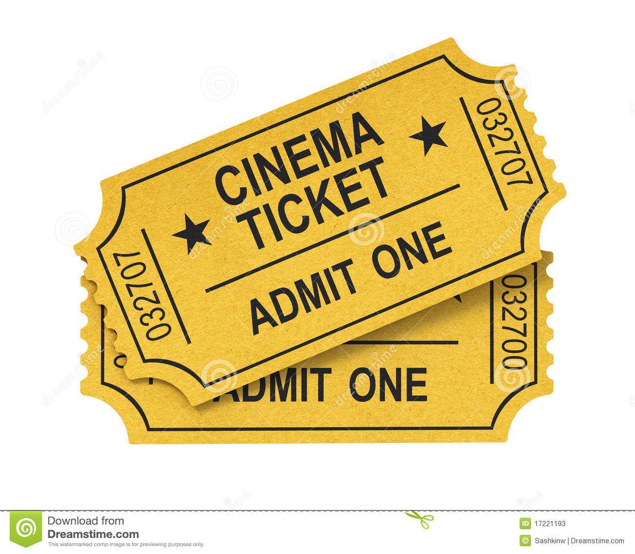 Resultado De Imagen Para Boletos De Cine En Blanco Png Cinema Ticket Movie Tickets Cinema